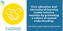 Civic education and intercultural learning create inclusive societies by promoting a culture of mutual understanding.