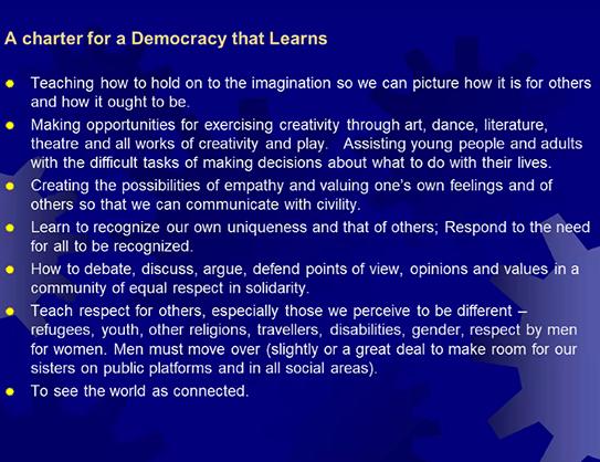 democracy charter slide